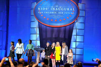THE KIDS INAUGURAL BALL WAS HELD IN THE CONVENTION CENTER IN WASHINGTON DC. HOSTED BY NICK CANNON AND SPECIAL APPEARANCES BY FIRST LADY MICHELLE OBAMA WITH GIRLS  AND DR. BIDEN WITH GRANDCHILDREN ON JANUARY 19,2013. (Photo by Valerie Goodloe)