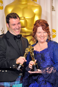 THE OSCARS 2012 PRESSROOM WAS HELD ON FEBRUARY 24, 2013 AT THE DOLBY THEATRE.     (Photo by Valerie Goodloe)