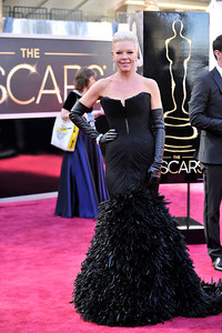 THE OSCARS 2012 RED CARPET ARRIVALS WAS HELD ON FEBRUARY 24, 2013 AT THE DOLBY THEATRE.     (Photo by Valerie Goodloe)