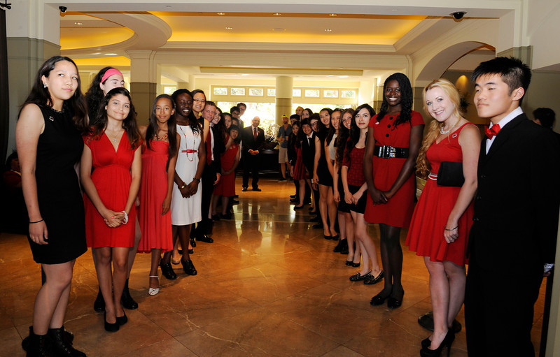 SANTA MONICA .THE RED TIE AFFAIR WAS HELD AT THE FAIRMONT HOTEL IN SANTA MONICA ON MAY 3l,2014.(Photos by Valerie Goodloe