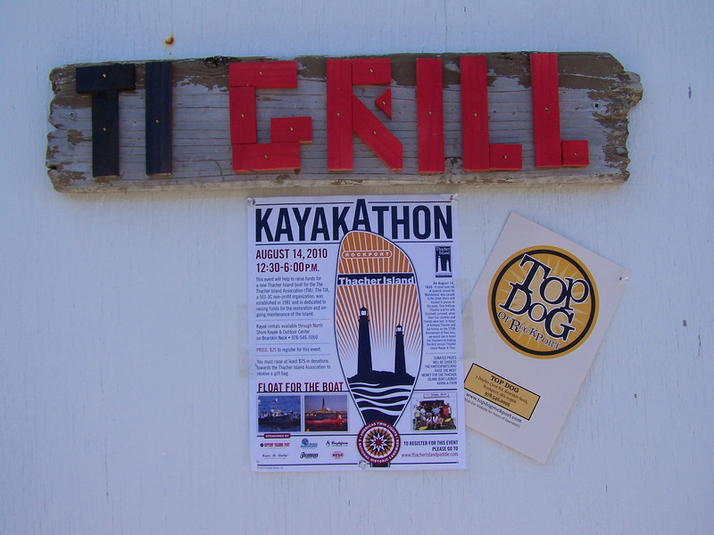 TI GRILL open for first annual KayakAthon on TI.