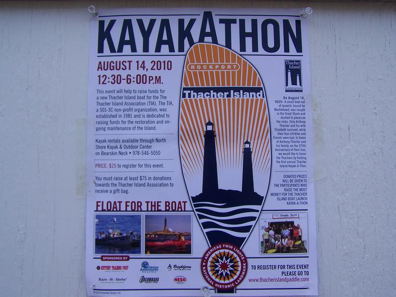First annual KayakAthon to Thacher Island.