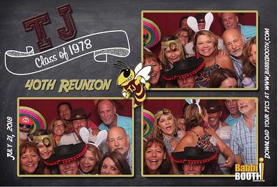 TJ Class of 78 - 40th Reunion