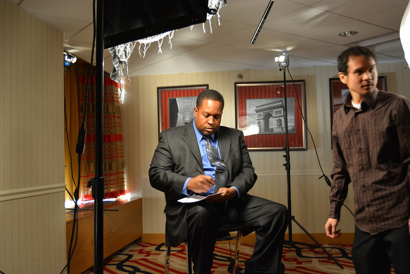 W. Deen Mohammed II interview during MAS-ICNA Convention