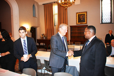 Al Gore, former Vice President of the United States & Warithudeen Mohammed II