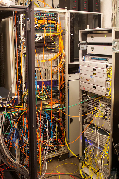 Behind the scenes in the communications closet
