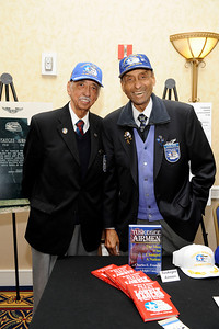 2009 12TH ANNUAL BLACK HISTORY CELEBRATION THURSDAY FEBRUARY 19, 2009. EMBRACING THE PAST CELEBRATING CHANGE FOR THE FUTURE.PRESENTED BY THE GREATER LOS ANGELES AFRICAN AMERICAN CHAMBER OF COMMERCE. BILL TERRY AND OLIVER GOODALL TUSKEEGEE AIRMEN