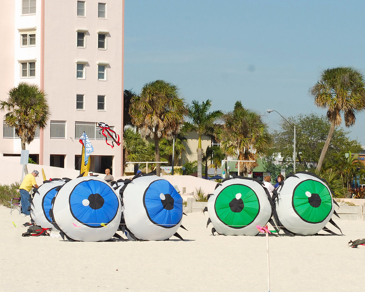 All eyes were on the kites!
