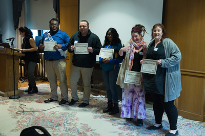 The TRIO Program end of year celebration at Westfield State University, April 2017