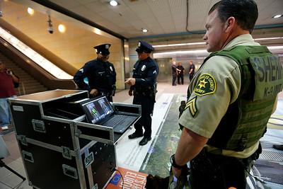 Metro & TSA Advanced Screening media event