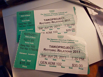 We got tickets!