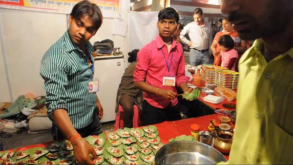 Pan shop - the Taj Mohotsav which is an annual ten day event held at Agra, Uttar Pradesh, India.