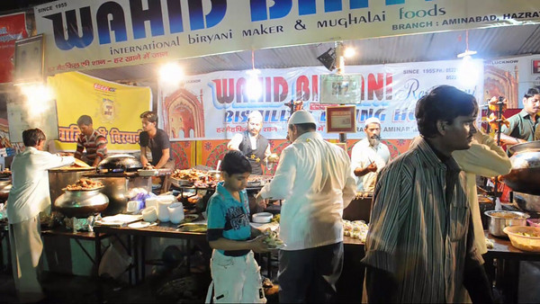 Foodies delight - the Taj Mohotsav which is an annual ten day event held at Agra, Uttar Pradesh, India.