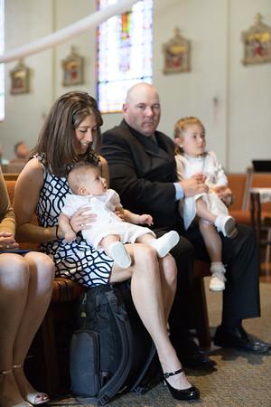 Talie + Hunter Greg Baptism