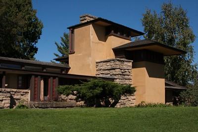 Taliesin - Frank Lloyd Wright home in Spring Green WI