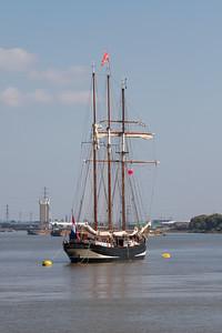 1918 - Oosterschelde - Rigging Topsail Schooner 3 (Netherlands)