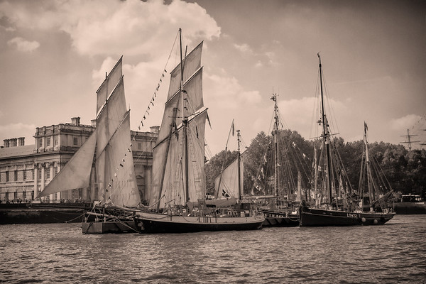1915 - Tecla - Rigging Gaff Ketch (Netherlands)