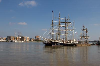 Tall Ships Woolwich Royal Arsenal