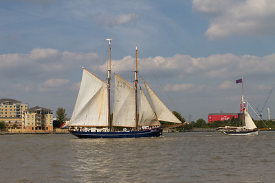 1916 - De Gallant - Rigging Schooner 2 (Netherlands)