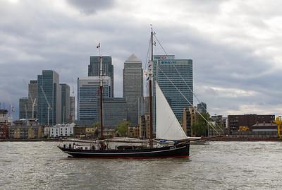 1916 - Iris - Sailing Lugger