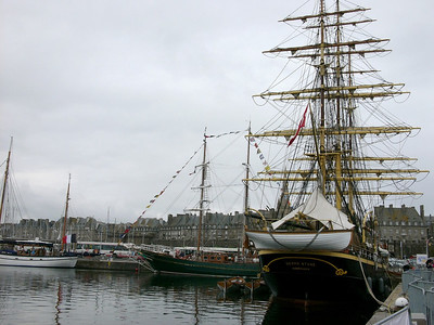 Tall Ships at St Malo, France