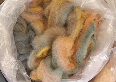 Dyed roves.