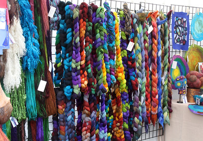 Colorful skeins !
