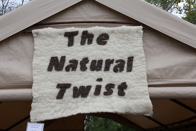 All natural products at this festival ...