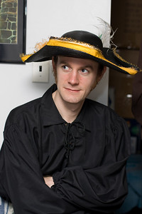 Mike P. as a pirate.