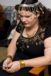 Carolyn as Cleopatra.