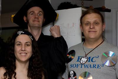 Three pirates.