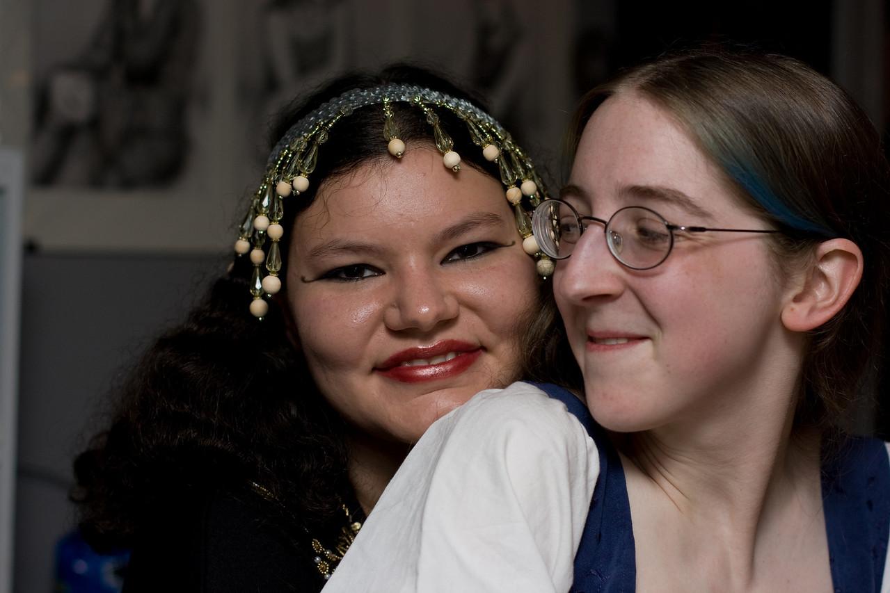 Tashari and Carolyn.