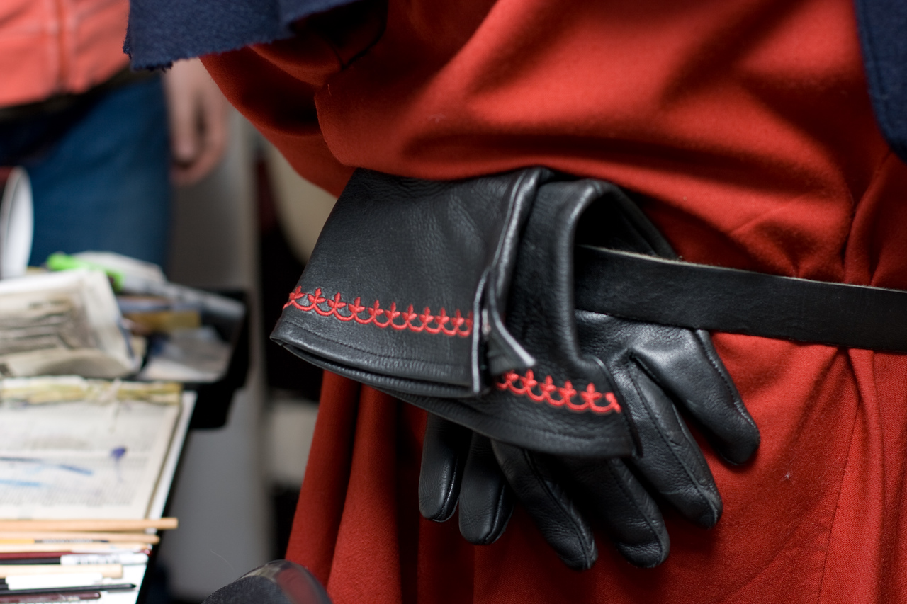 Mercutio's gloves.
