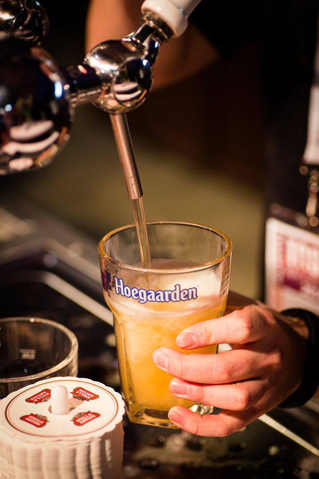 Can't forget the Hoegaarden.