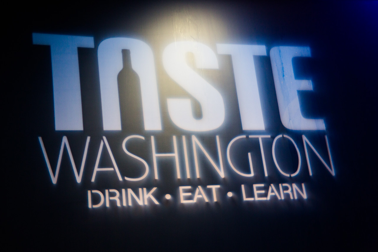 """March 29th 2014 at day one of Taste WA. <a href=""""http://tastewashington.org/"""">http://tastewashington.org/</a>"""