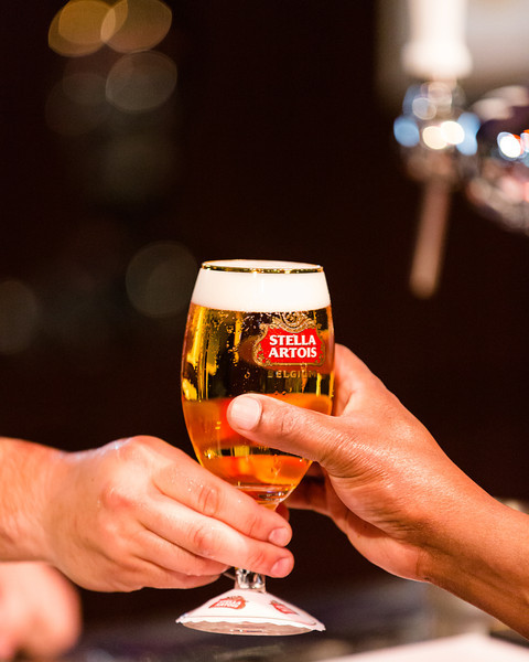 Experiencing a proper beer service is rare even in great craft beer bars.  The Stella Artois bar at Taste WA however exemplified proper beer service.