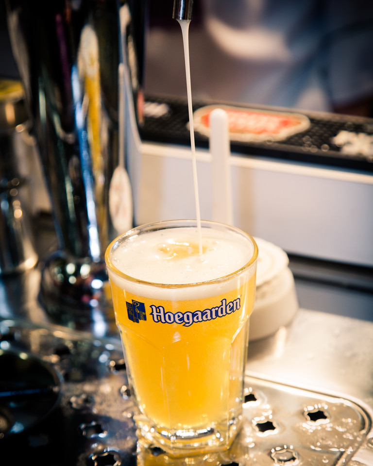 Like all of our beers, we want just the right amount of foam to form at the top.  We're almost there....