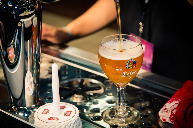 Beyond its signature color, Leffe blonde has a unique spice characteristic.  Unlike Hoegaarden though, no spices are added to the brewing process.