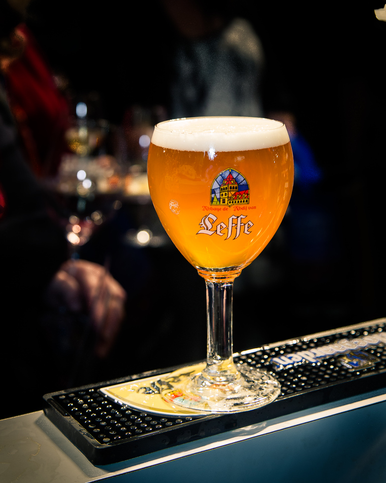 "Our final beer is Leffe Blonde.  Pronounced ""Lef"", this is a Belgian blonde abbey ale.<br /> <br /> I promise I won't make any blonde jokes in this set."