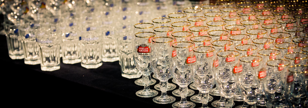 Welcome to Taste WA.  This is an annual festival that focuses on food, beer and wine.  In today's session we learn fun facts about Stella Artois beers, and how to pour them properly.