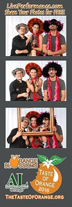 Taste of Orange 2016 - Eye Photo Booth Photo Strips