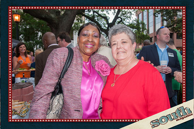 Mayor Edna Jackson and Margaret Mary Russell