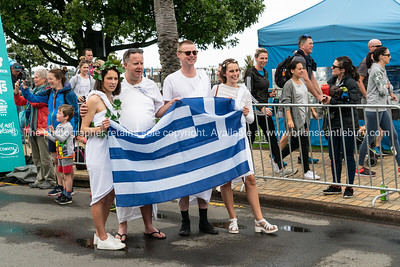 Four fun-lovers dress for occasion Tauranga International Marathon