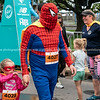 Finishing in Kids Dash of Tauranga International Marathon