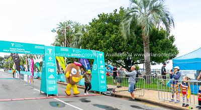 Kiwifruit finishing in  Tauranga International Marathon