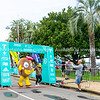 Kiwifruit finishing in  Tauranga International Marathon