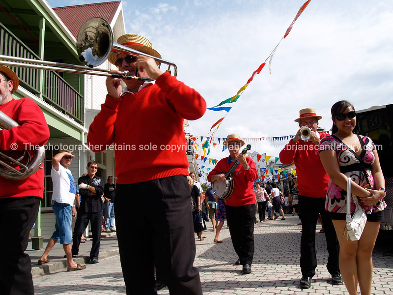 """Tauranga Historic Village, National Jazz Festival, 2010. Tauranga is New Zealands 5th largest city and offers a wonderfull variety of scenic and cultural experiences. <br /> ALSO SEE; <a href=""""http://www.blurb.com/b/3811392-tauranga"""">http://www.blurb.com/b/3811392-tauranga</a>"""