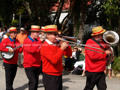 National Jazz Festival, 2010, Tauranga. Musicians at Tauranga Historic Village. Tauranga is New Zealands 5th largest city and offers a wonderfull variety of scenic and cultural experiences.  ALSO SEE; http://www.blurb.com/b/3811392-tauranga