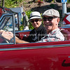 Vintage car parade in Willow Street Tauranga.