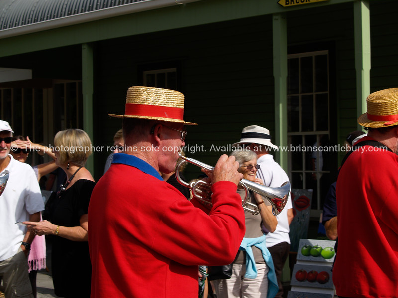 """National Jazz Festival, 2010, Tauranga. Musicians at Tauranga Historic Village. Tauranga is New Zealands 5th largest city and offers a wonderfull variety of scenic and cultural experiences. ALSO SEE; <a href=""""http://www.blurb.com/b/3811392-tauranga"""">http://www.blurb.com/b/3811392-tauranga</a>"""